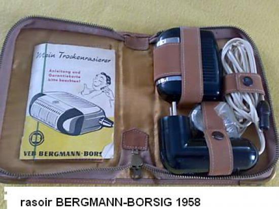 rasoir BERGMANN-BORSIG