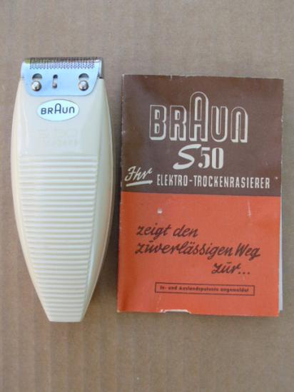 rasoir Braun S50